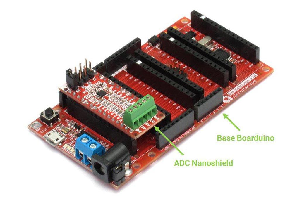 ADC Nanoshield - ADS1115 3