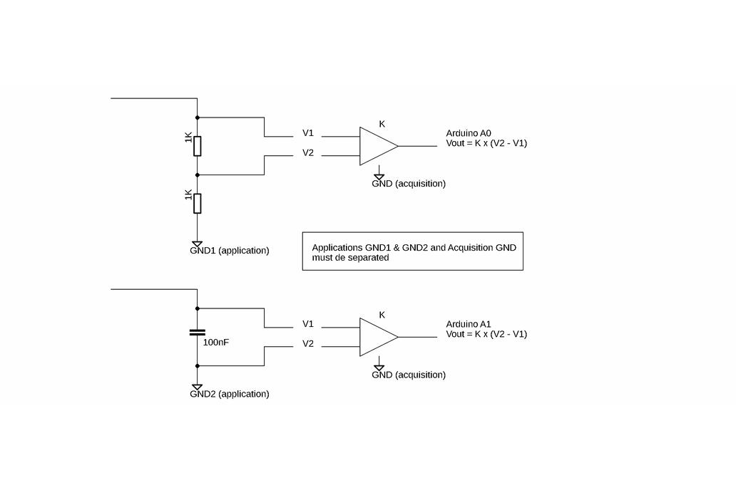 Differential Amplifier Shield for Arduino Uno 4