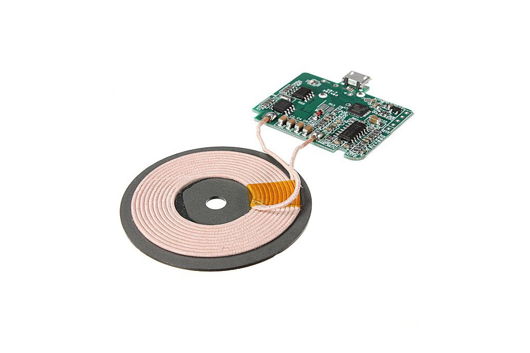 Wireless Coil Charger Circuit Board For Cell Phone 5