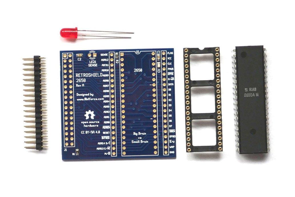 RetroShield 2650 for Arduino Mega 1