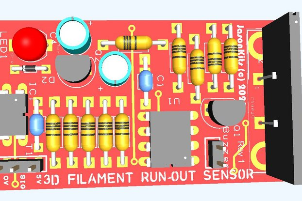 3D Printer Filament Run out Sensor