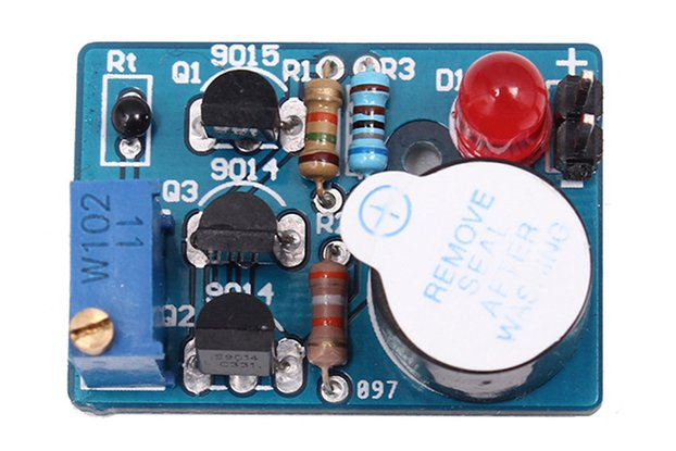 Temperature Control Sound Light Alarm DIY(5425)