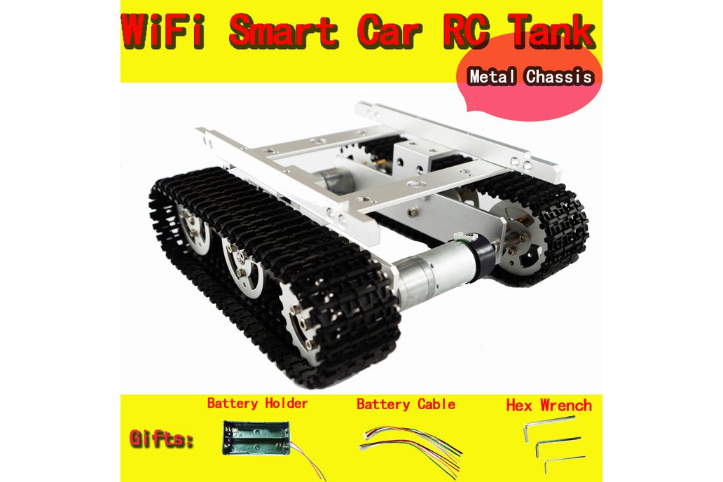 Metal Tank Chassis T100 1