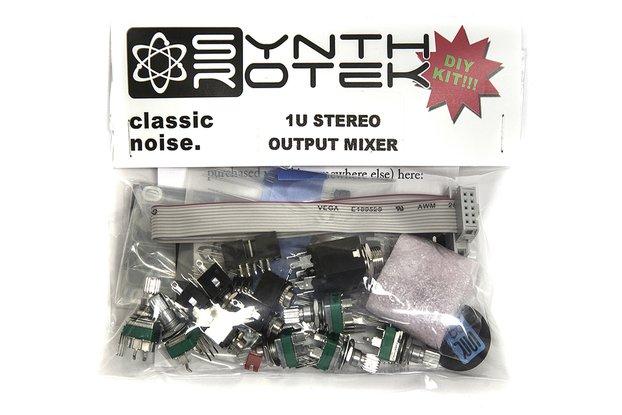 1U Stereo Output Mixer Kit