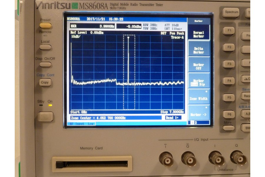 34MHz to 4.4GHz Frequency Synthesizer