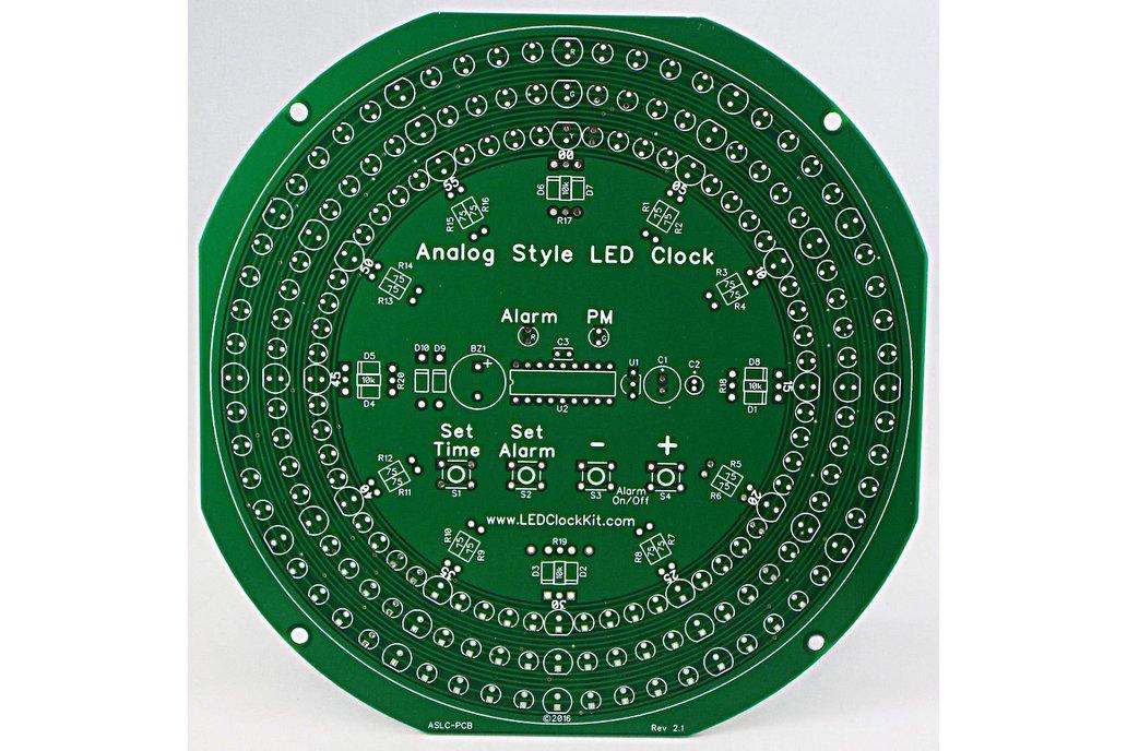 Analog Style LED Clock Parts 1