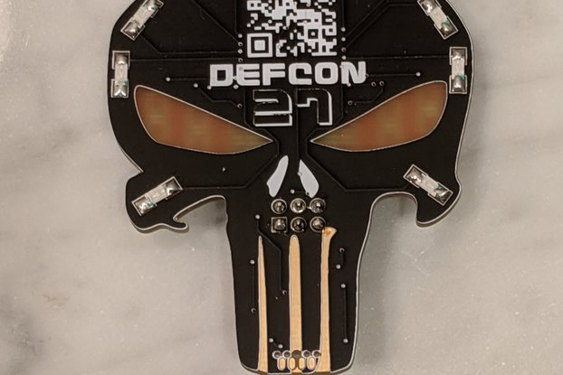 "Team ID64F ""Punisher"" Badge SAO"