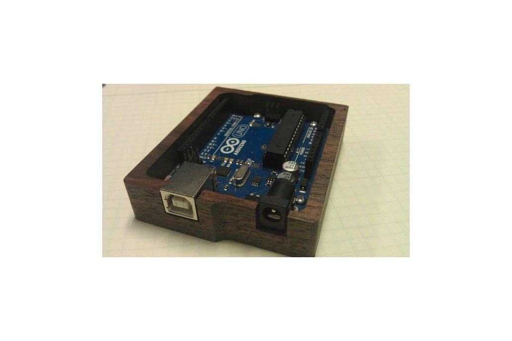 Wooden Arduino Tray 1