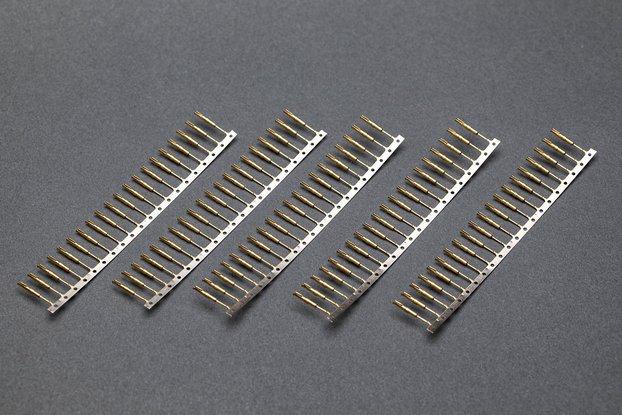 Gold Plated Nixie/VFD Tube Socket Pins, 100pcs