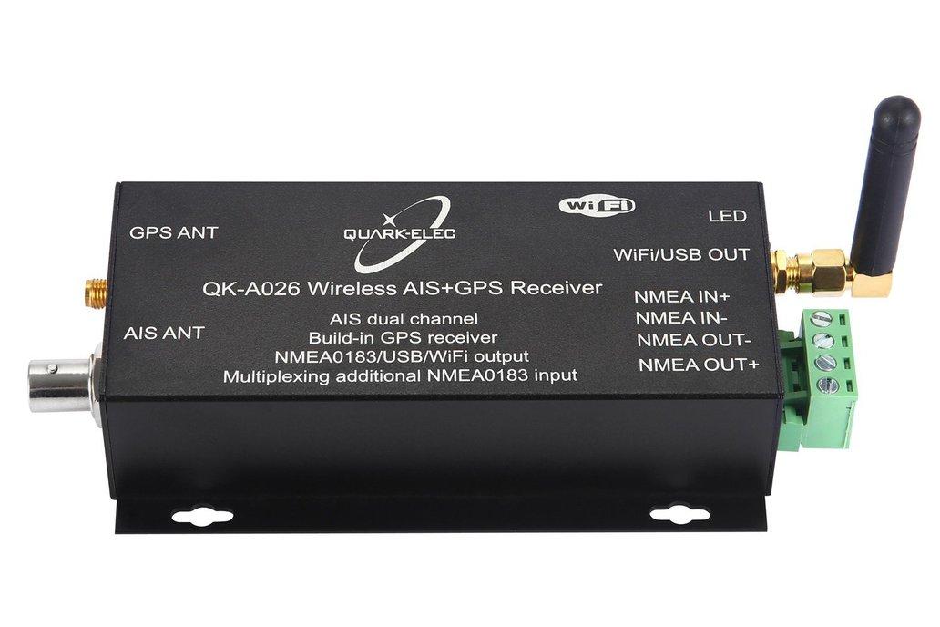 QK-A026 Wireless AIS+GPS Receiver 1