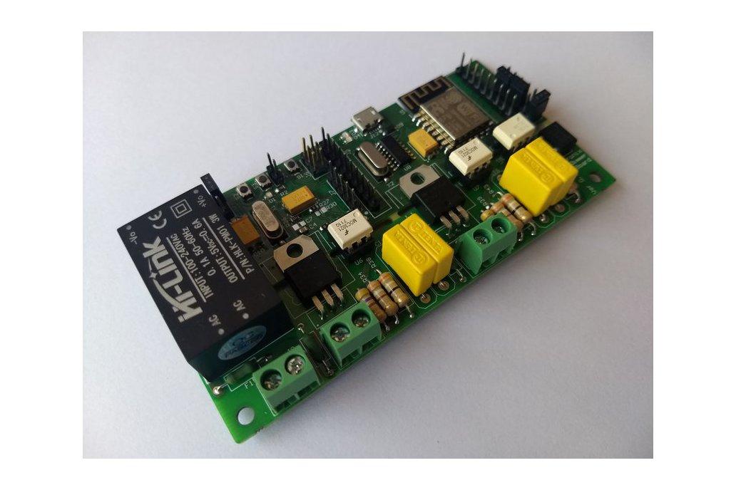 WiFi AC Dimmer with ESP8266 & Atmega328p 2