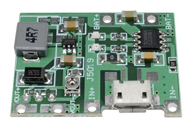 3.7V 4.2V Lithium 18650 Battery Charger Board