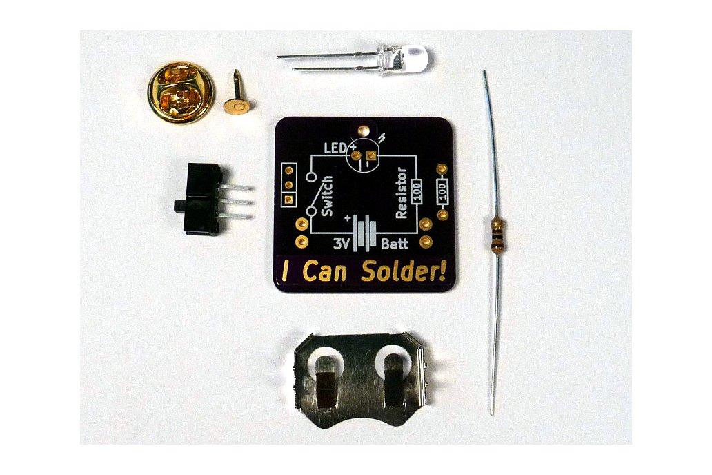 I Can Solder Badge 3