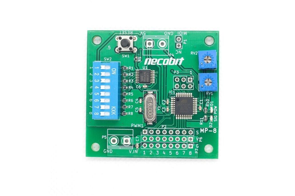 MP-8 [MIDI Mechanical System] 1