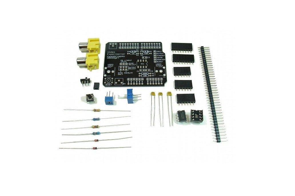 Video Experimenter Shield - Kit 2