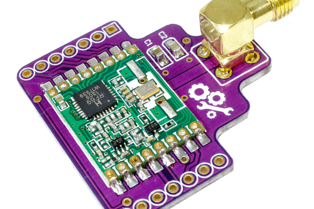 RFM69HW Wireless RF Breakout Board - 1km+ Range