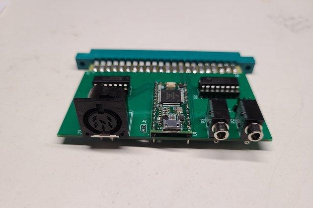 SymDOS I/O board for SYM-1 SBC