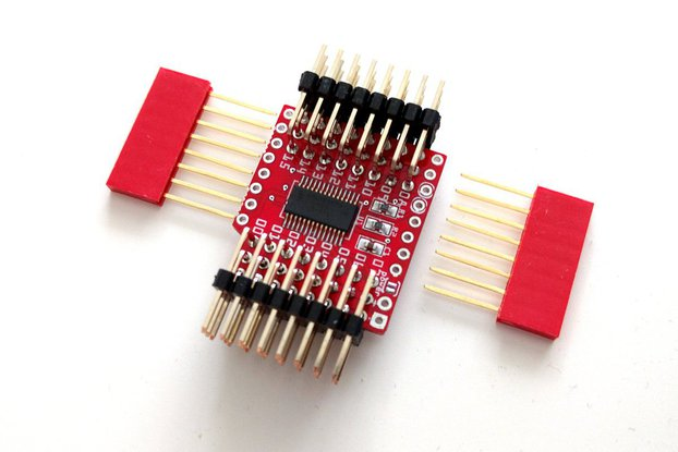 16-channel Servo Shield for D1 Mini v2 by deshipu