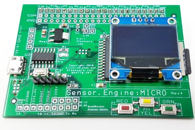 Sensor.Engine:MICRO Sensor interface/control