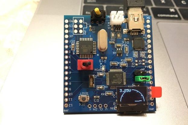 ATmega4809 challenger board