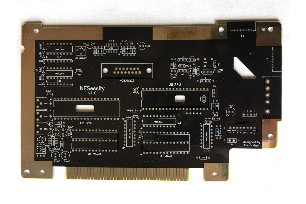 NESessity Upgraded Replacement PCB for NES Console 1
