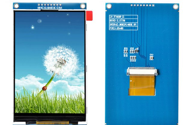 320*480 4.0inch TFT LCD Display Module_GY18325