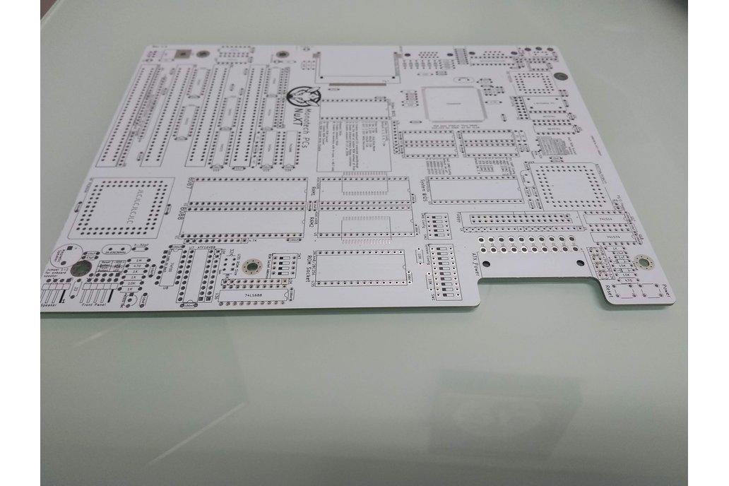 Monotech NuXT MicroATX PCB v1.0 for 8088 1