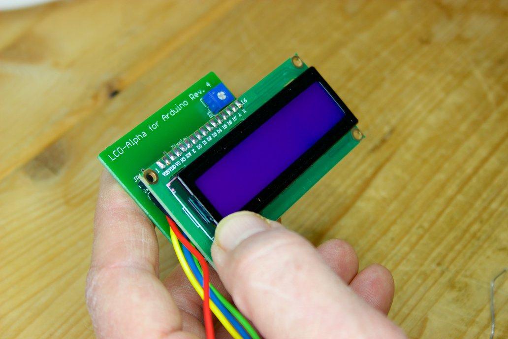 Alphanumeric LCD Arduino Kit 3