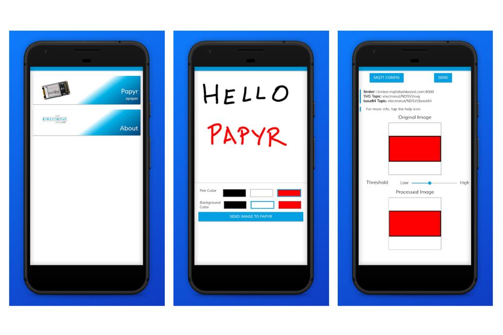 Papyr - Nordic nRF52840 epaper display