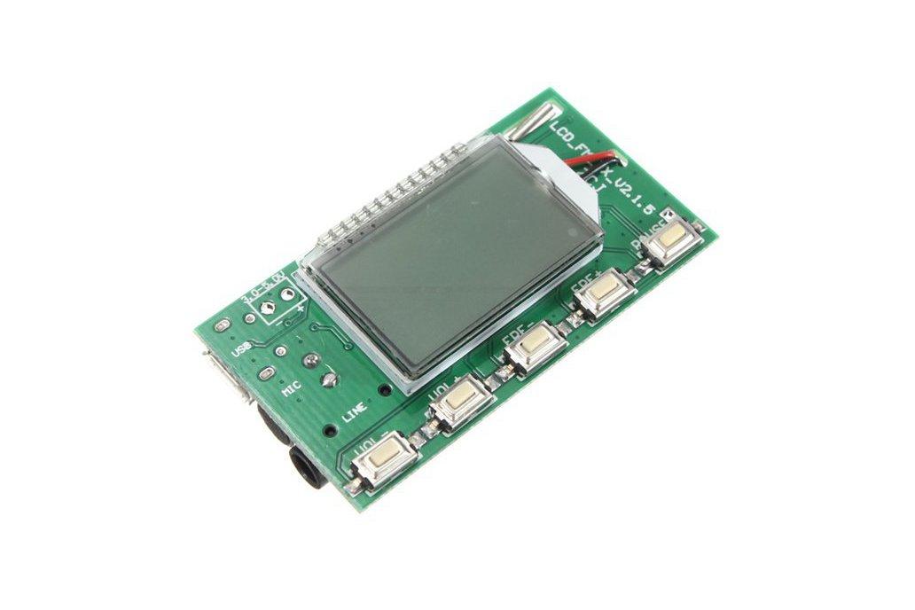 DSP PLL FM Transmitter Module - USB/Aux-In - 100mW 1