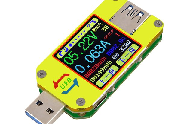 USB 3.0 Full-Color LCD Display Tester