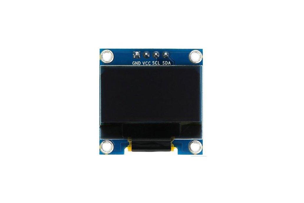 0.96 128x64 I2C Blue Color OLED Display 4 Pin 1