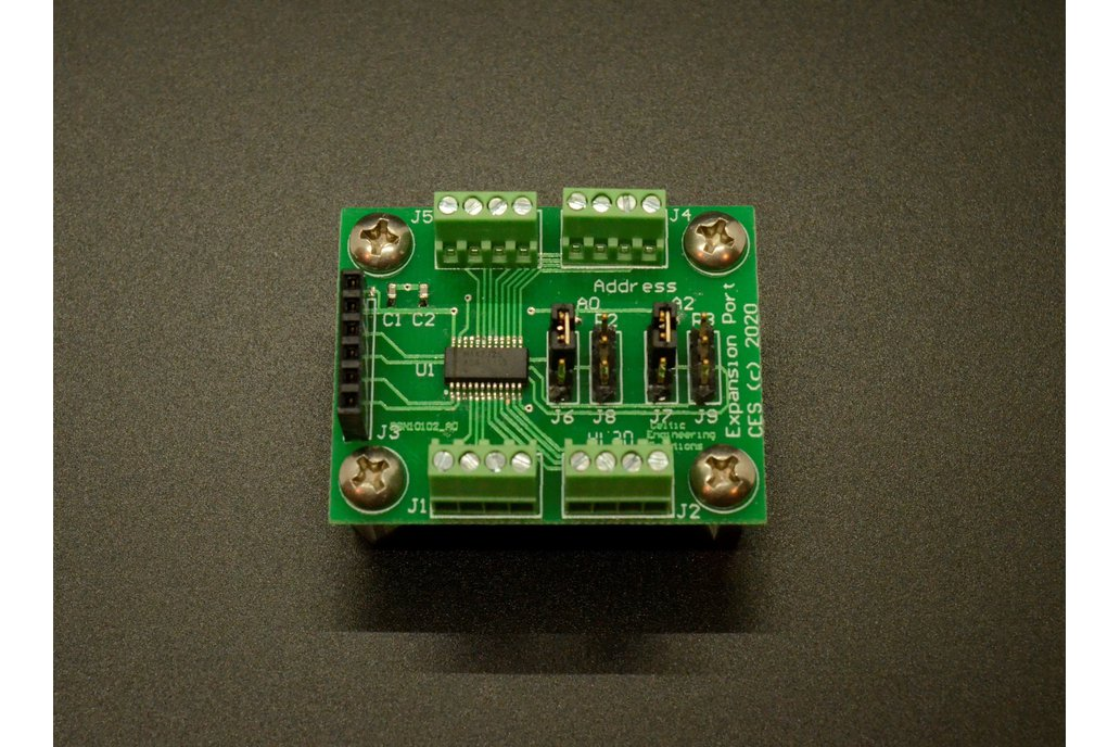 I2C Port Expander Board (Arduino code included!) 1