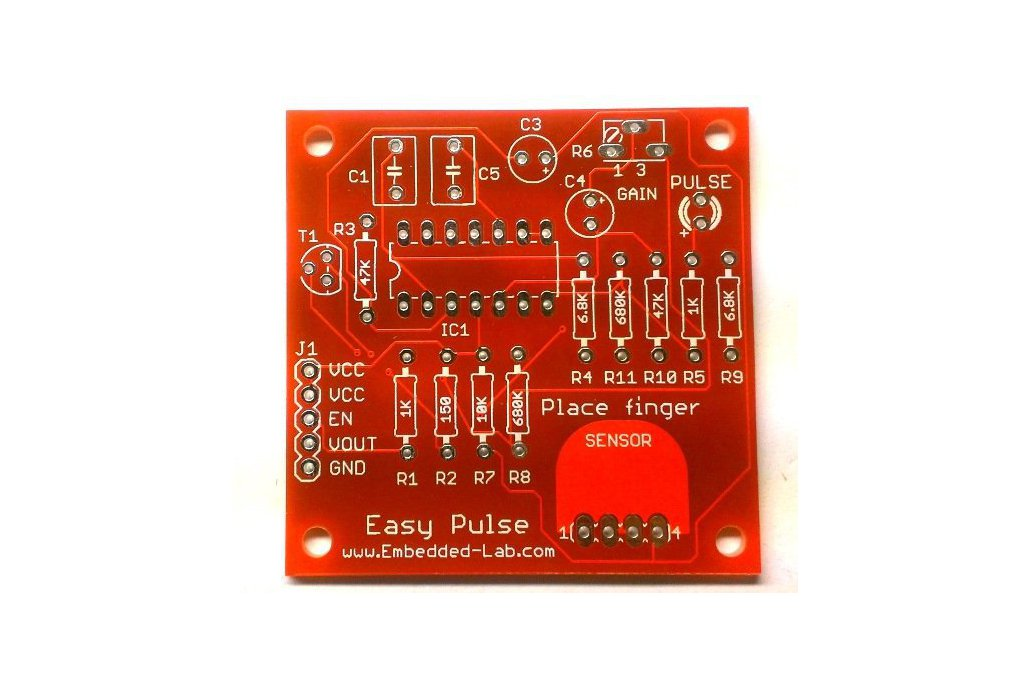 Easy Pulse PCB only 1