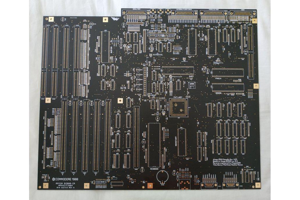 Amiga 2000 Replica PCB by Floppie209 1