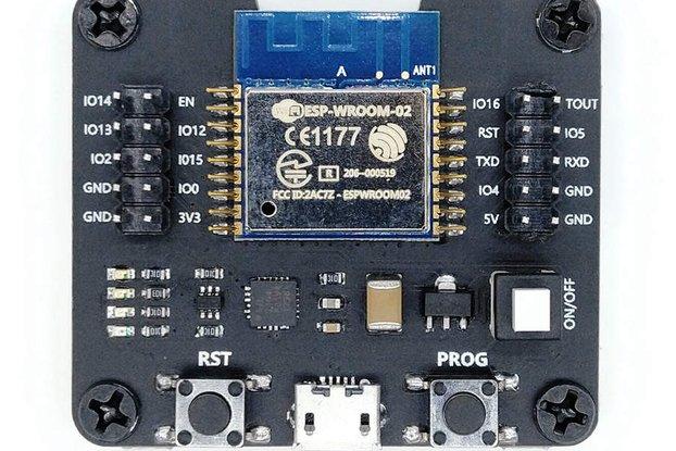 ESP-WROOM-02/02D/02U Module Adapter