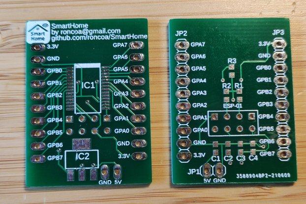 ESP8266 expander SMD