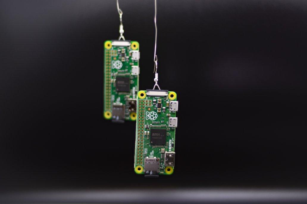 PiDrops: Raspberry Pi Earrings 1