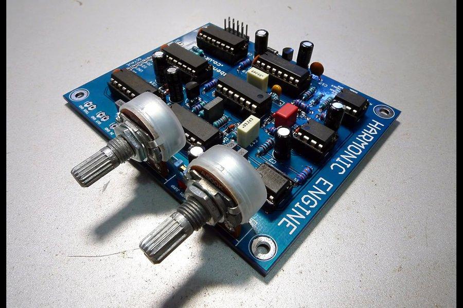 HARMONIC ENGINE - E&MM Harmony Generator clone PCB