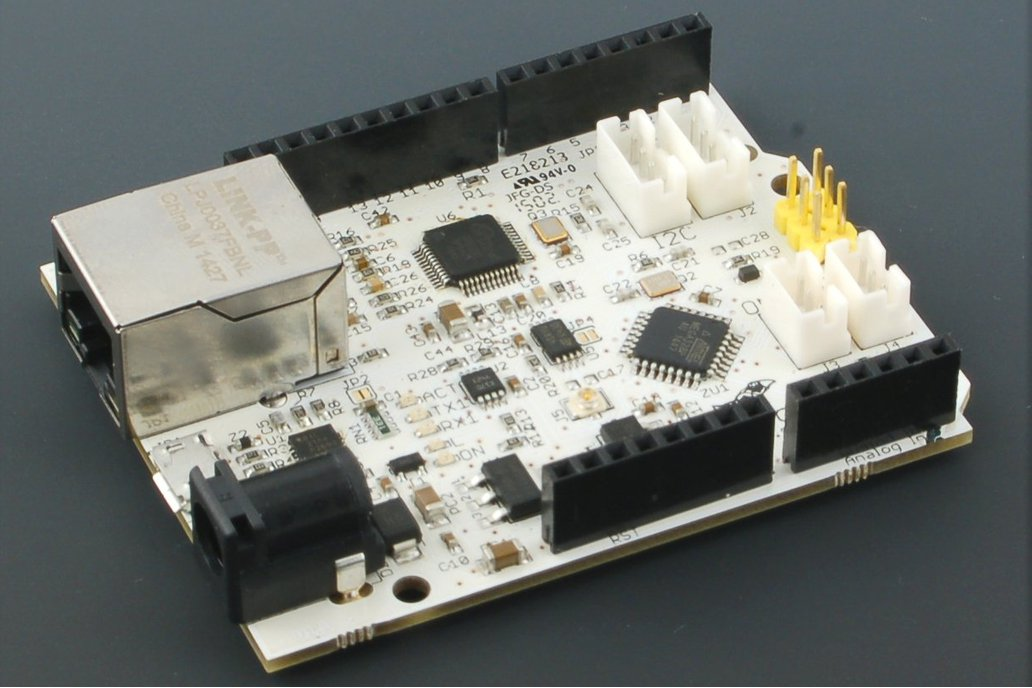 UnoNet Arduino board with Ethernet (Atmega328PB) 1