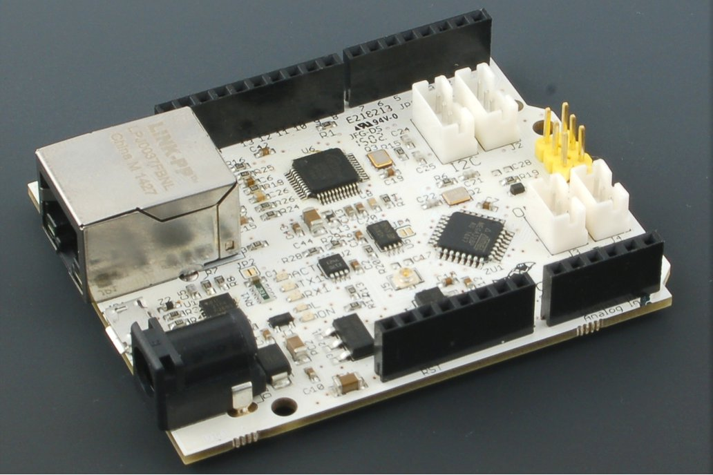 UnoNet Arduino board with Ethernet (Atmega328PB) 1