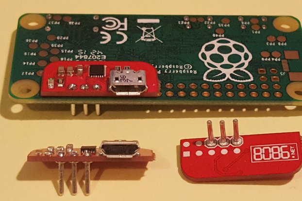 Solderless Serial to USB adapter for RPi (FTDI)