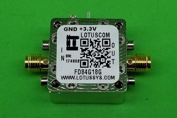 Frequency Divider/Prescaler Divide by 8 (4~18 GHz)