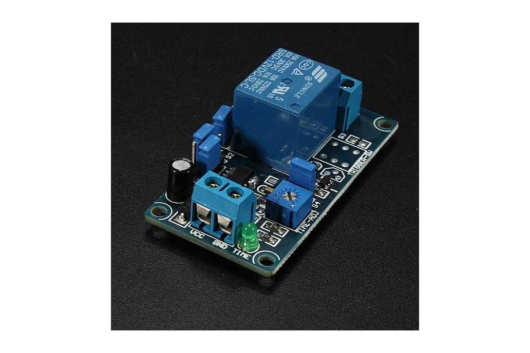 12V Power-ON Delay Relay Circuit  1