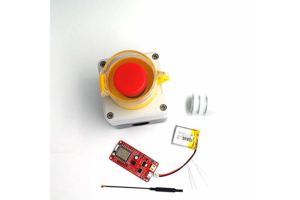 DSTIKE ESP8266 Waterproof Emergency Button DIY Kit 1