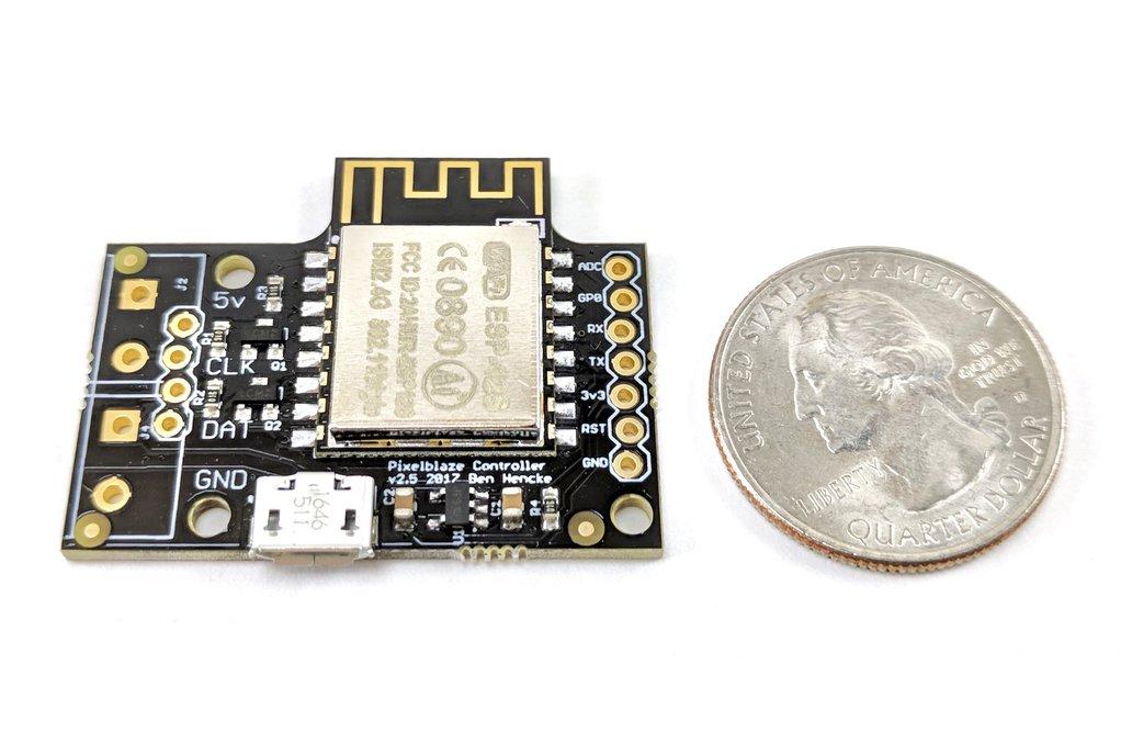 ElectroMage Pixelblaze V2 - WiFi LED Controller 2
