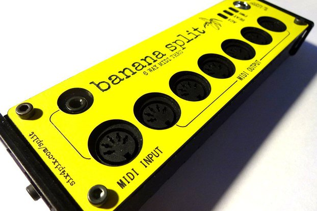 Banana Split - 6 Way Midi Splitter/Thru Box