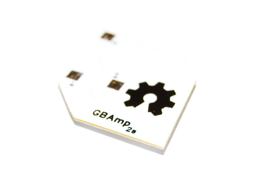 Gameboy Quality Loud Sound Mod PCB 3