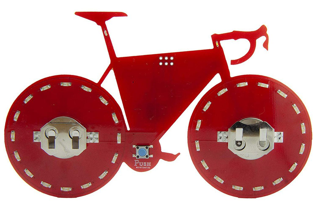 LED Light-up Bicycle Ornament 1