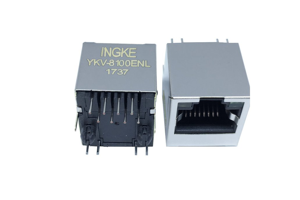 YKV-8100ENL RJ45 Ethernet Connectors 1
